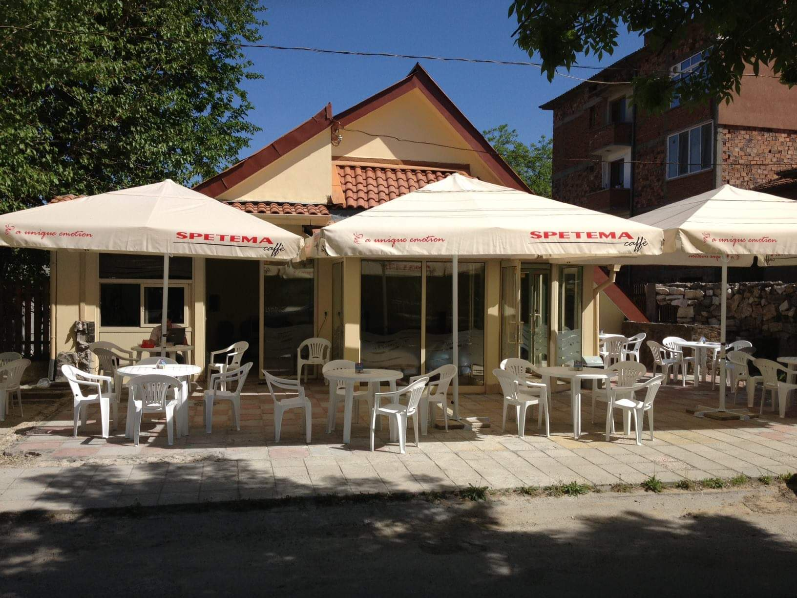 Restaurant in the town of Septemvri
